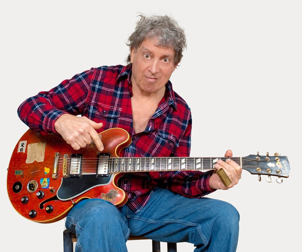 Elvin Bishop and his 1959 Gibson guitar will be in Harrah's Lake Tahoe on Saturday, April 6. Photo by Jen Taylor, Delta Groove Music.