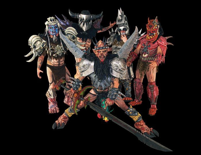 GWAR is out of this world and live onstage at the Knitting Factory.