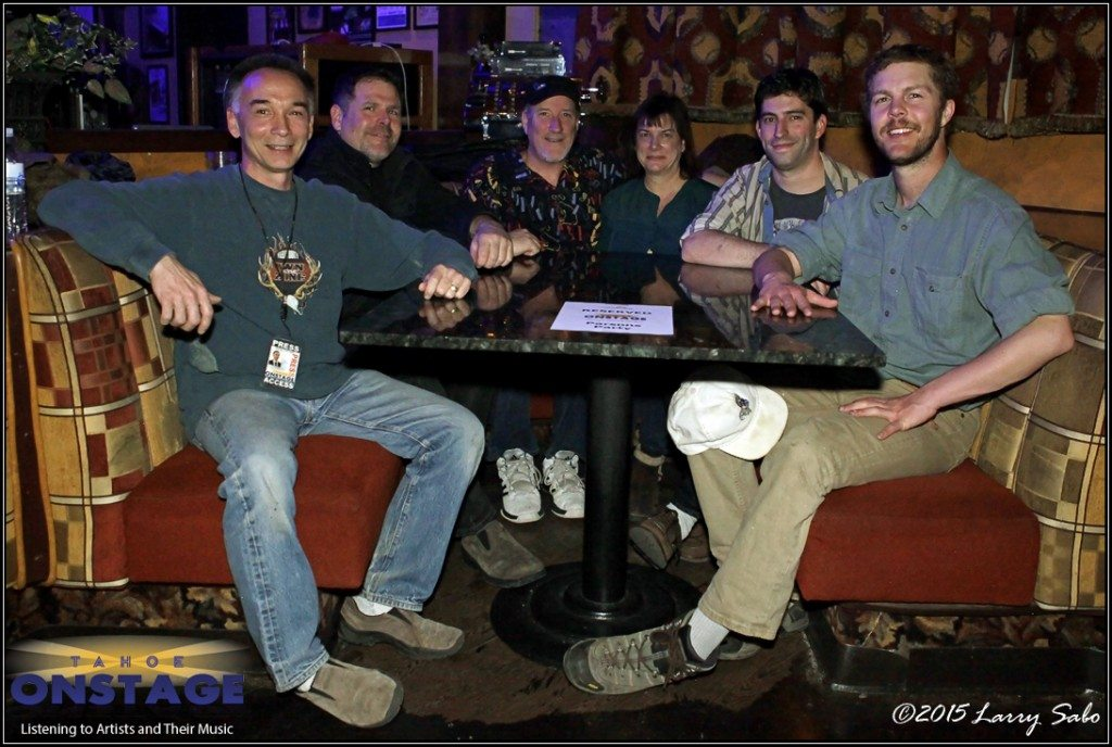 The Tahoe Onstage crew, from left, Larry Sabo, Kurt Johnson, Tim Parsons, Joan Pilar, Josh Sweigert and Garrett Bethmann.