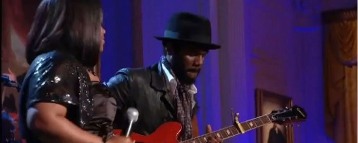 Video of Day: Shemekia Copeland and Gary Clark Jr. at White House