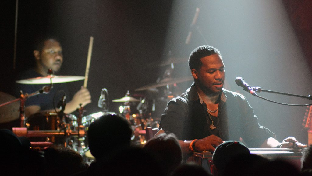 Robert Randolph at the pedal steel guitar