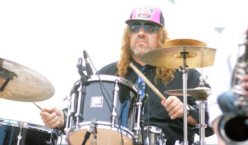 """Frank """"Fletch"""" Fletcher plays his second Red Room gig in eight days Saturday when the drummer performs with Dead tribute band the Casual Dogs. Tahoe Onstage photo by Tim Parsons"""