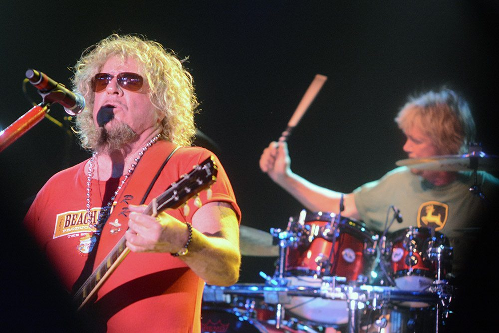 Sam and Dave, aka the Red Rocker and Bro Lauser during a Cinco de Mayo concert at Tahoe. Tahoe Onstage/ Tim Parsons