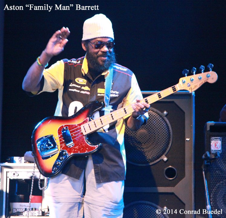 "Anton ""Family Man"" Farrett and the Wailers play April 4 at Harrah's Lake Tahoe. The photos which accompany this story are from the Wailers' February 2014 show at Harrah's."