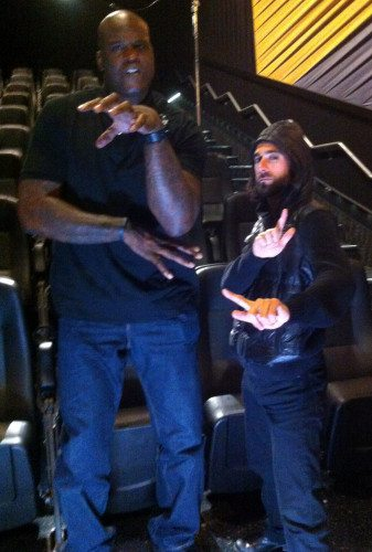 Particle and Shaq