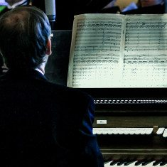 Organist David Brock and the music of Mozart.