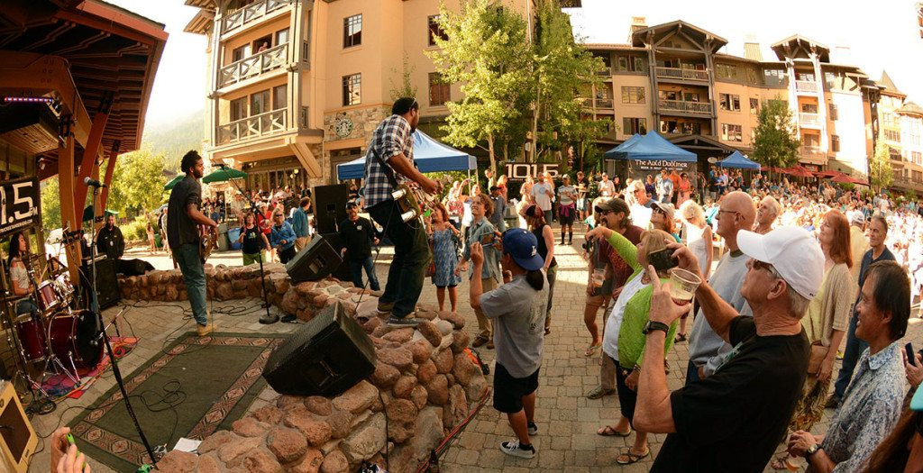 The Homemade Jamz Blues Band rocks Squaw Valley. Tim Parsons / Tahoe Onstage