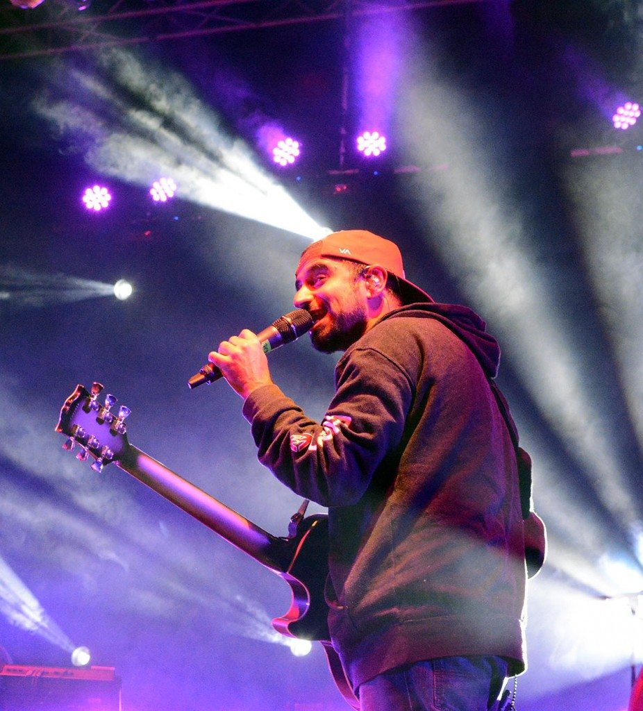 Eric Rachmany of Rebelution. Tim Parsons / Tahoe Onstage