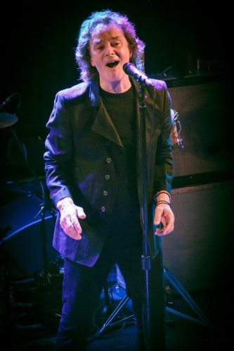Colin Blunstone is the lead singer for the Zombies. This photo was taken by Matthew White, the son of Zombies original bass player Chris White.