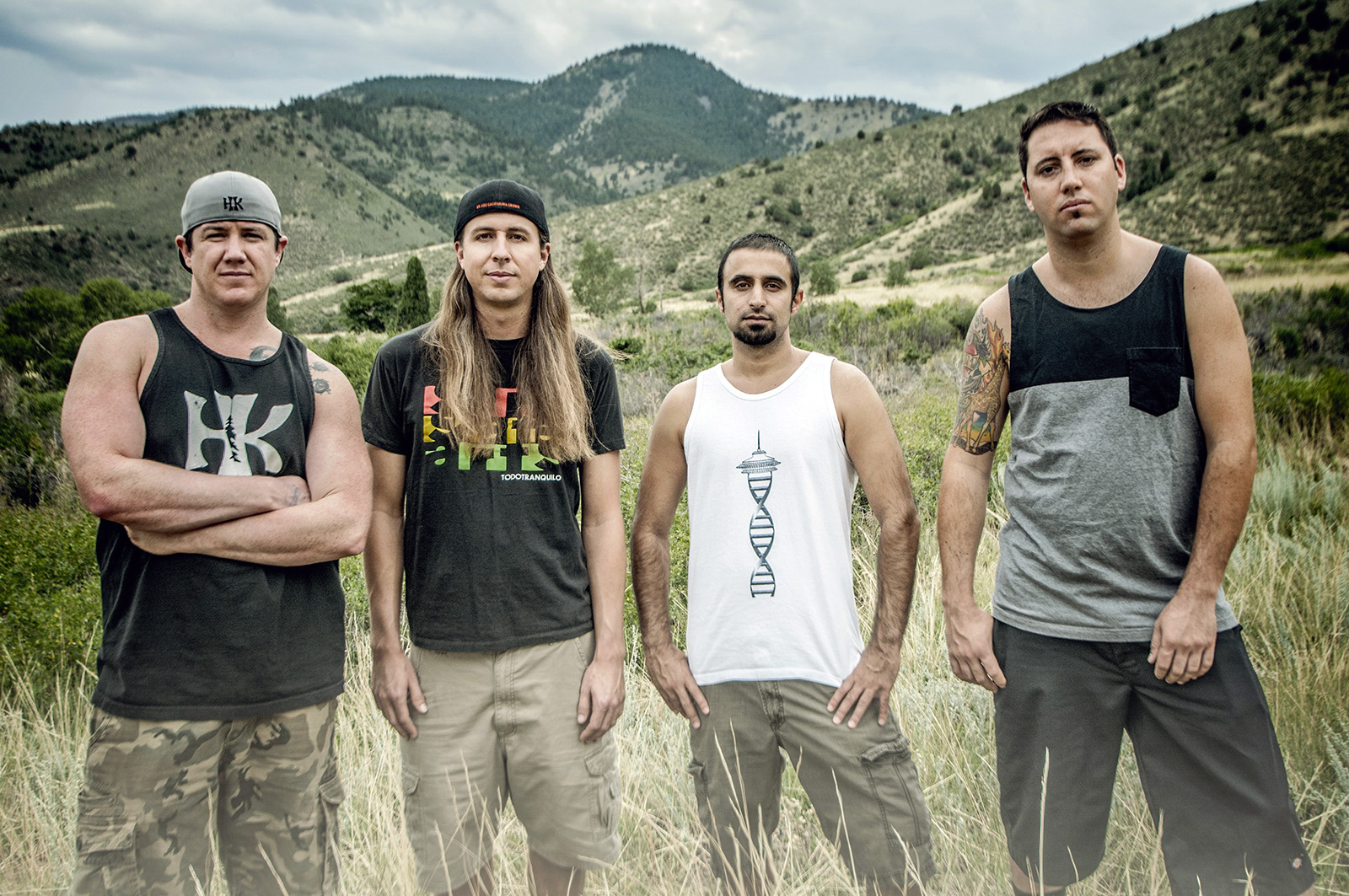 Rebelution is Marley D. Williams, left, Rory Carey, Eric Rachmany and Wesley Finley.