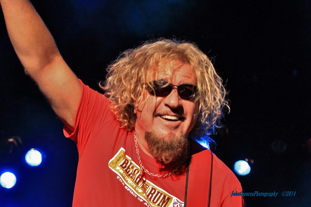 CEO of Rock Sammy Hagar