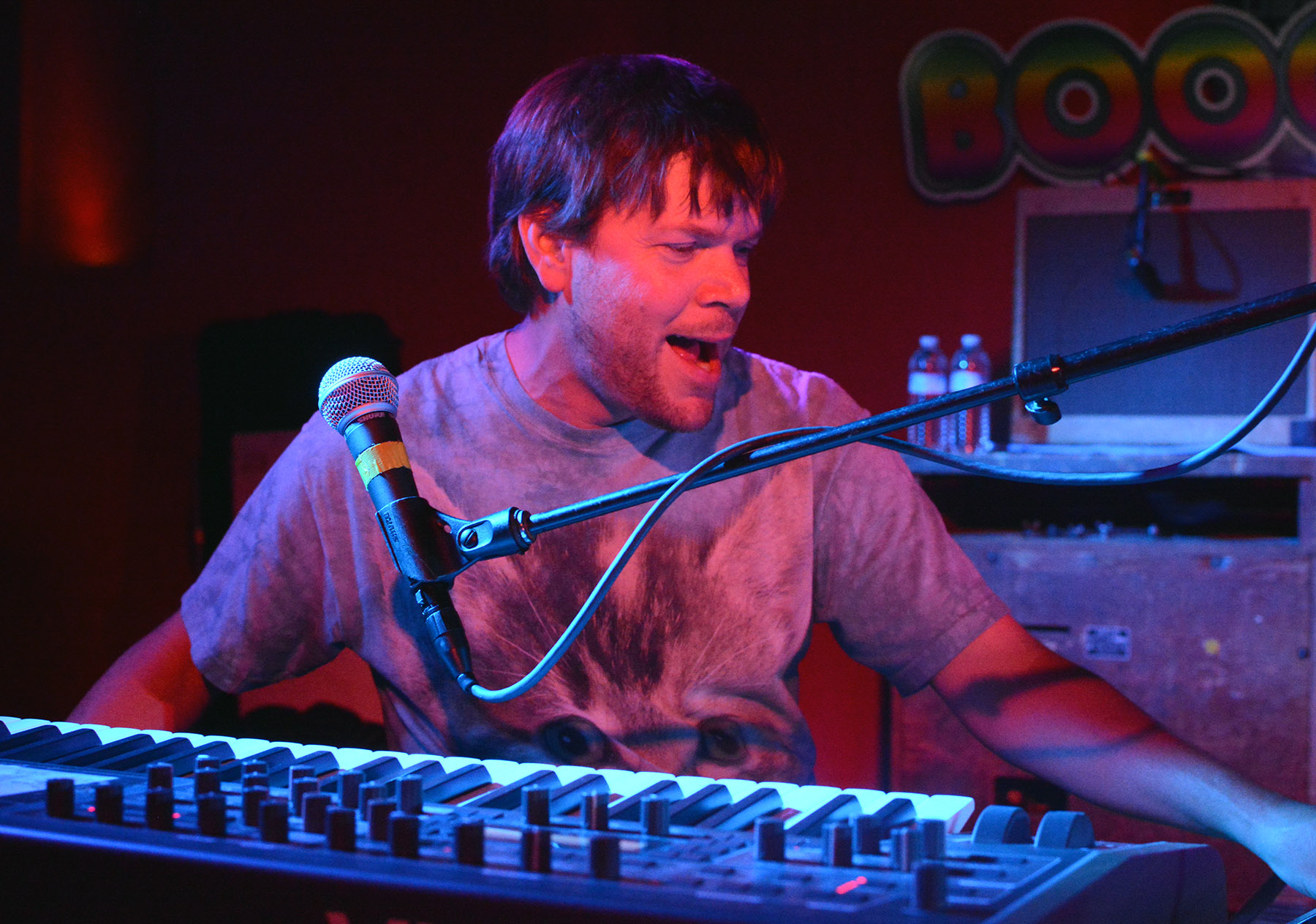 Kyle Hollingsworth at the keyboard during a Sept. 25 show in MontBleu at Lake Tahoe. Tim Parsons / Tahoe Onstage