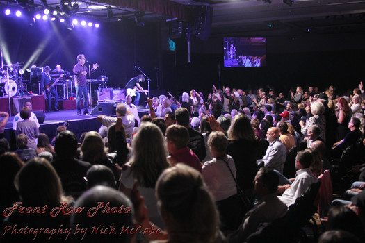 Huey Lewis and the News receive a standing ovation Sept. 26 at the Silver Legacy. Nick McCabe / Front Row Photo