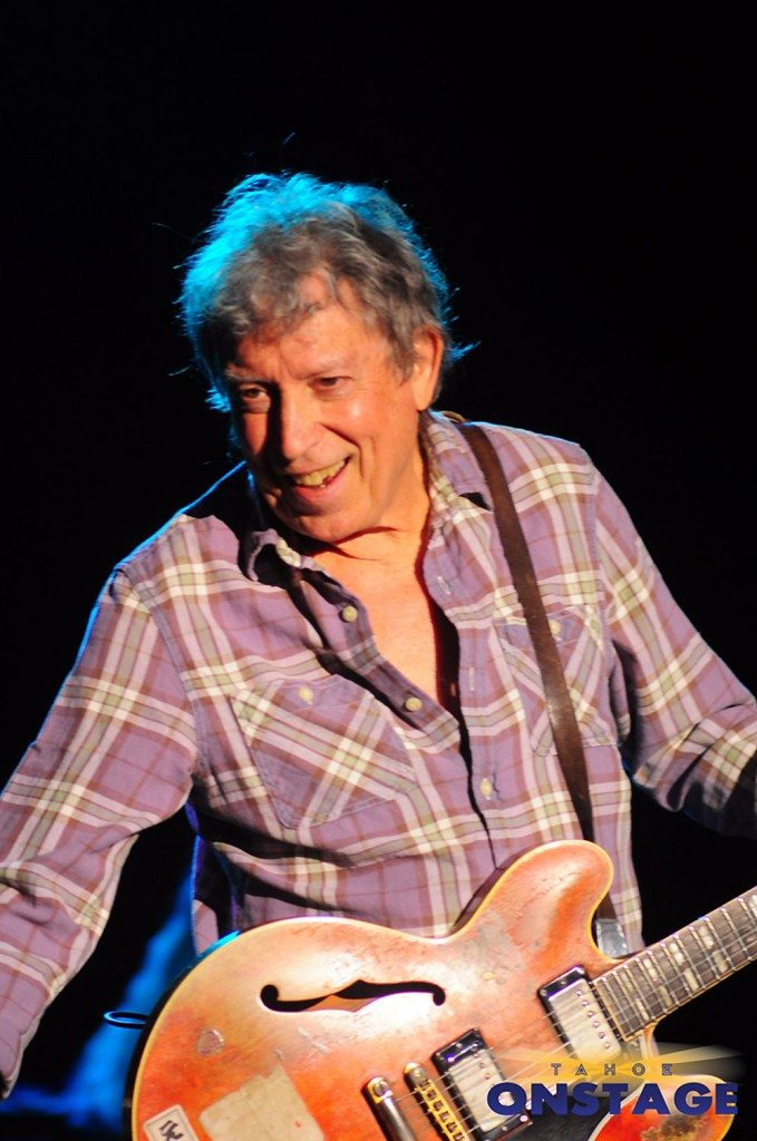 Elvin Bishop official joins Mark Hummel's Harmonica Blowout for the first time Jan. 3 at Harrah's Lake Tahoe.