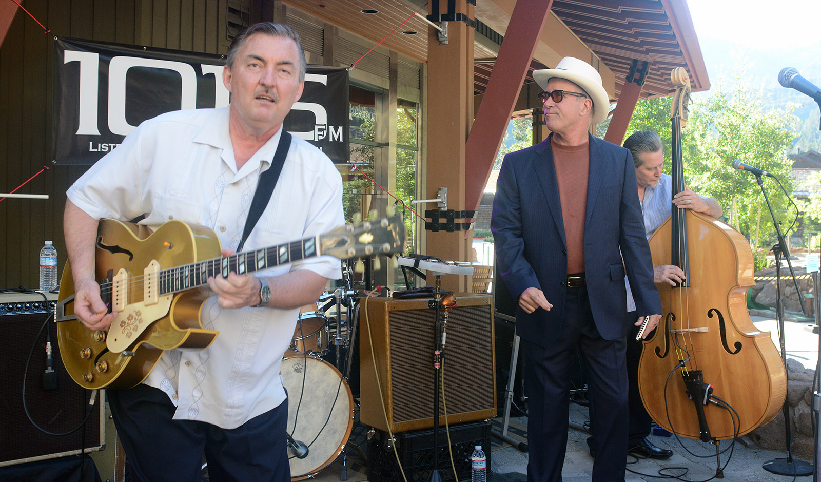Little Charlie Baty and Mark Hummel rock Bluesdays at Squaw Valley in 2013. Both return to Tahoe Jan. 3 for a Harmonica Blowout at Harrah's Lake Tahoe. Tahoe Onstage photo by Tim Parsons
