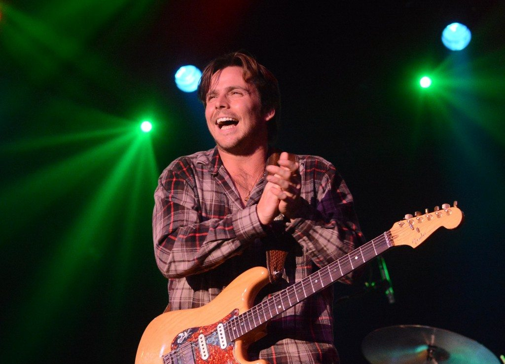 Lukas Nelson reacts to the crowd during his December show at Harrah's Lake Tahoe. Tim Parsons / Tahoe Onstage