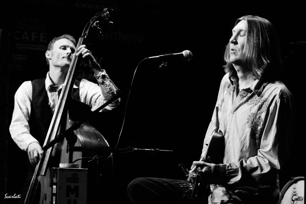 The Wood Brothers, Chris, left, and Oliver perform Jan. 18 at the Cargo in Reno. Photo by Anthony Scarlati
