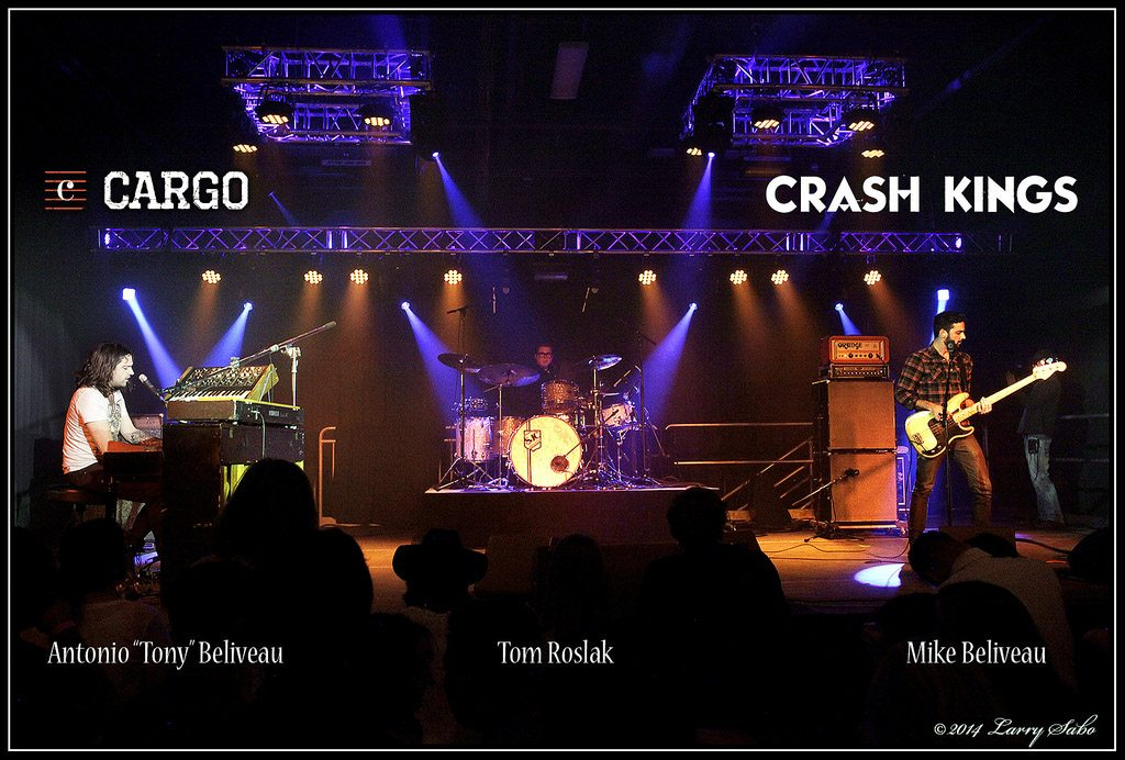 The Crash Kings rock the house during its June debut in the Cargo.