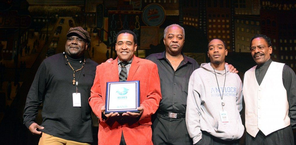 Eddie Cotton of the Vicksburg Blues Society is the winning band at the 31st International Blues Challenge. Tim Parsons / Tahoe Onstage