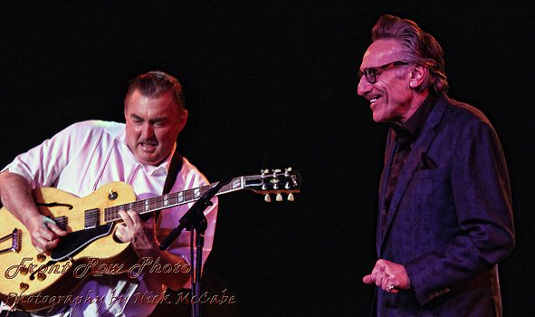 Together again: Little Charlie Baty and Rick Estrin. Nick McCabe / Front Row Photo