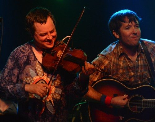 Aaron Redner and Nat Keefe of Hot Buttered Rum. Tim Parsons / Tahoe ONstage