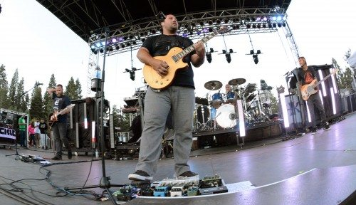 Iration in Tahoe onstage in summer 2014 at North Tahoe Regional Park. The Santa Barbara band returns to the festival this summer at South Shore.  Tim Parsons/ Tahoe Onstage
