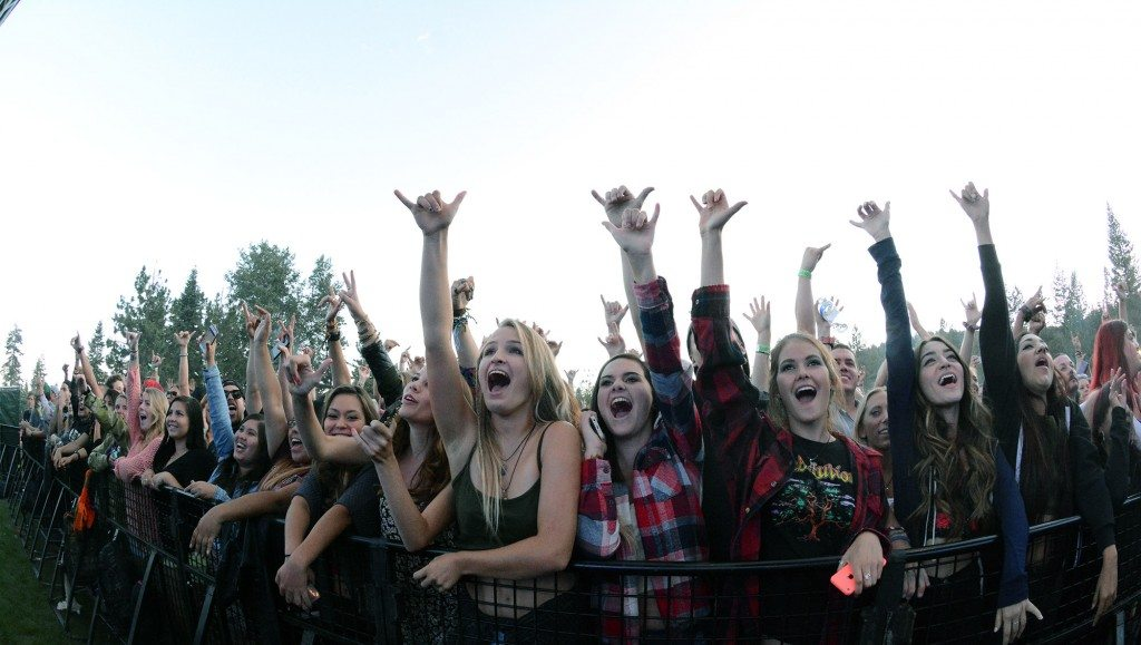 Iration's fan base is enthusiast and mostly female.  Tim Parsons/ Tahoe Onstage