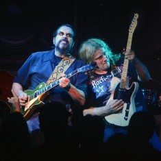 Greg Golden and Frank Hannon play the hell out of their guitars. Tim Parsons / Tahoe Onstage