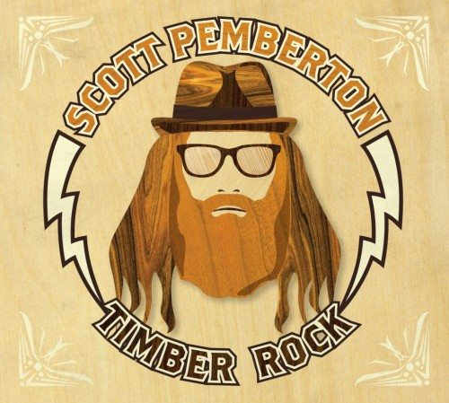 "Oregon's Scott Pemberton calls his splintering music ""Timber Rock."""