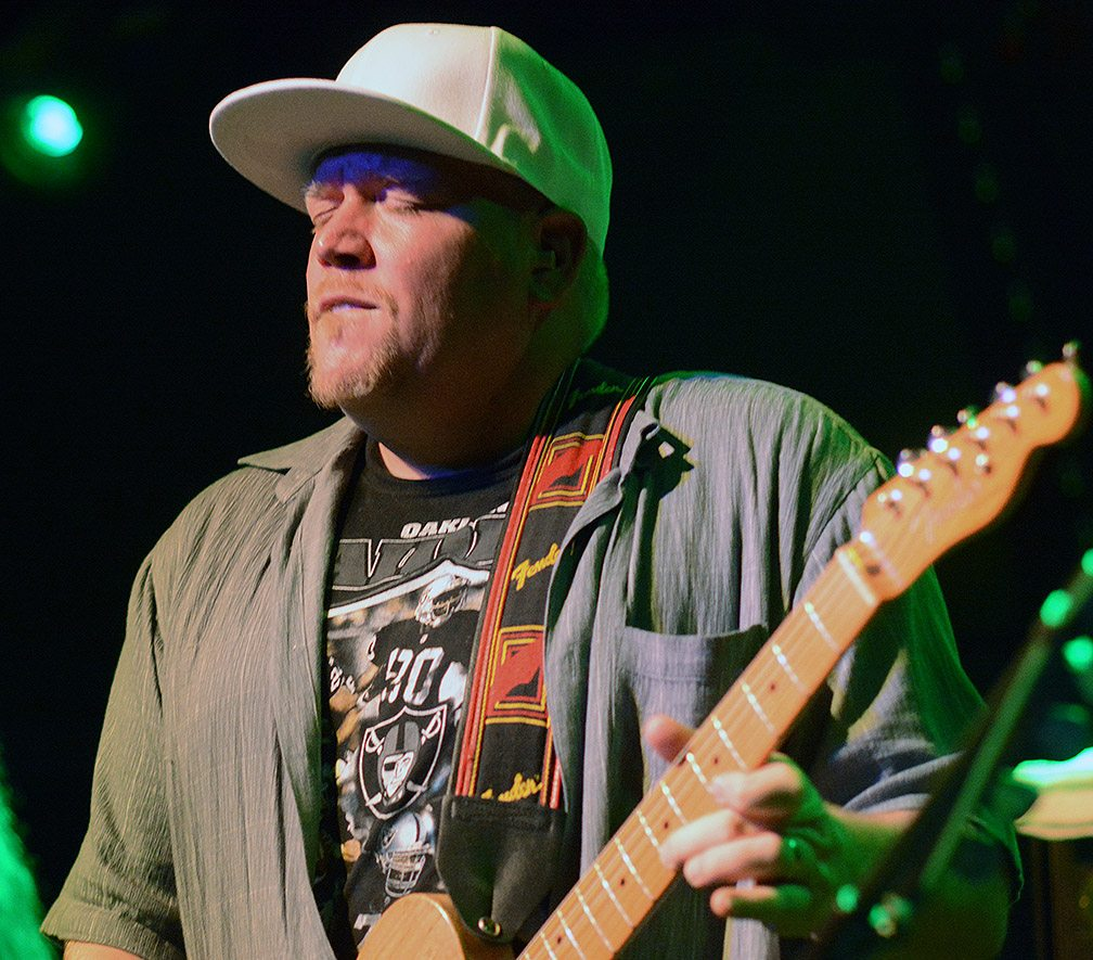 Lightnin' Malcolm in the moment. Tim Parsons / Tahoe Onstage