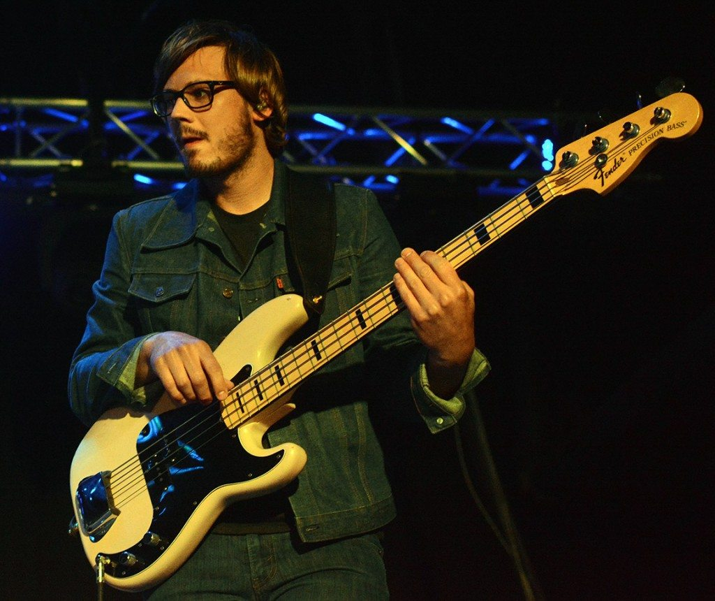 Kevin Black on bass.