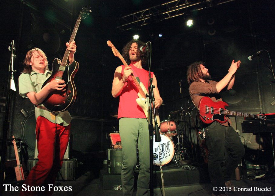 The Stone Foxes debut at Bluesdays this summer.