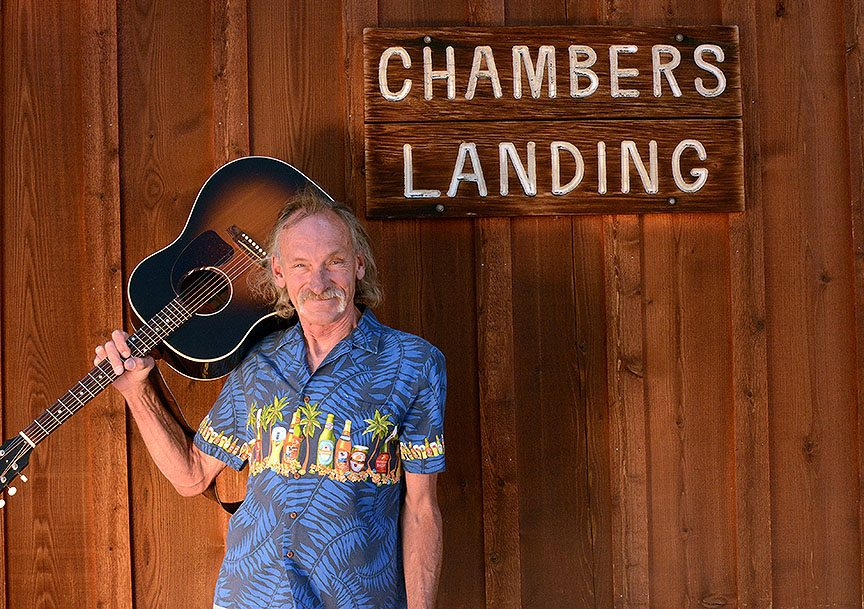 Kip Yegar can be found most summertime weekends at Chambers Landing. Tim Parsons / Tahoe Onstage