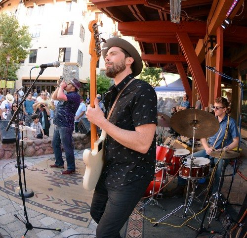 Bluesdays is every Tuesday during the summer at Squaw Valley. Tim Parsons / Tahoe Onstage