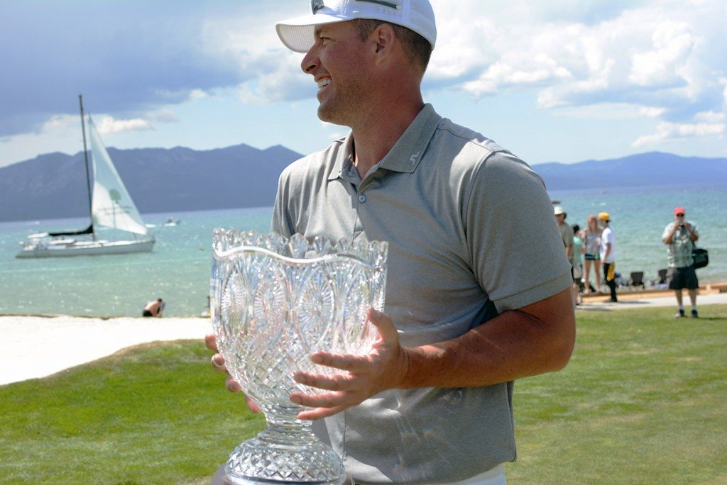 Mark Mulder walked away from Lake Tahoe with the trophy for the second-straight year. Tim Parsons / Tahoe Onstage file 2015