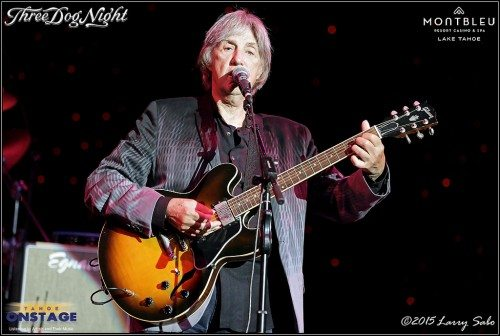 Cory Wells performs Aug. 1, 2015 in the MontBleu Theater. The founding member of Three Dog Night died on Oct. 20.