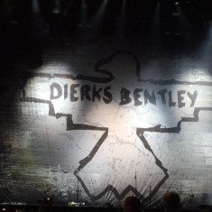 Dierks Bentley is about to come out from behind the curtain Aug. 23 at the Harvey's Outdoor Arena.