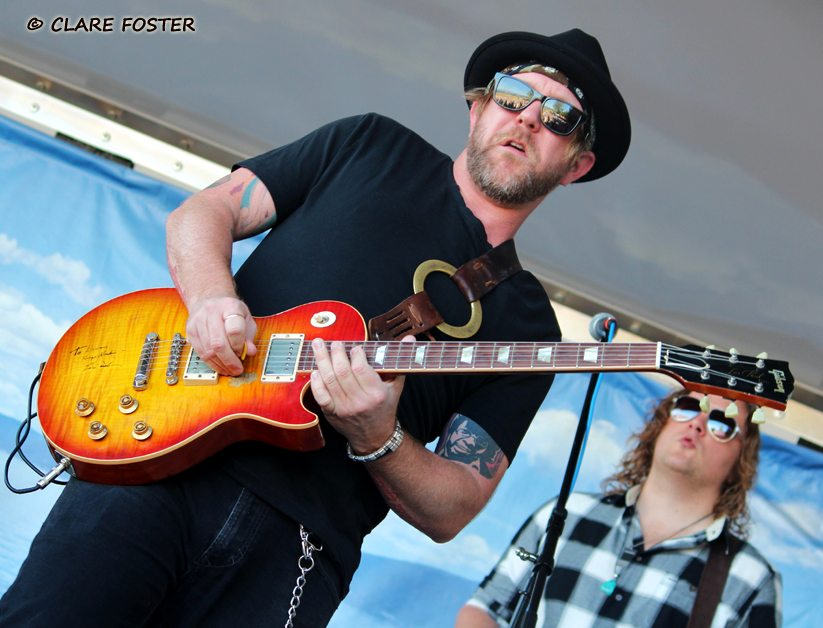 Devon Allman rocks Commons Beach at the last concert of the summer on Sept. 6. Photos by Clare Foster