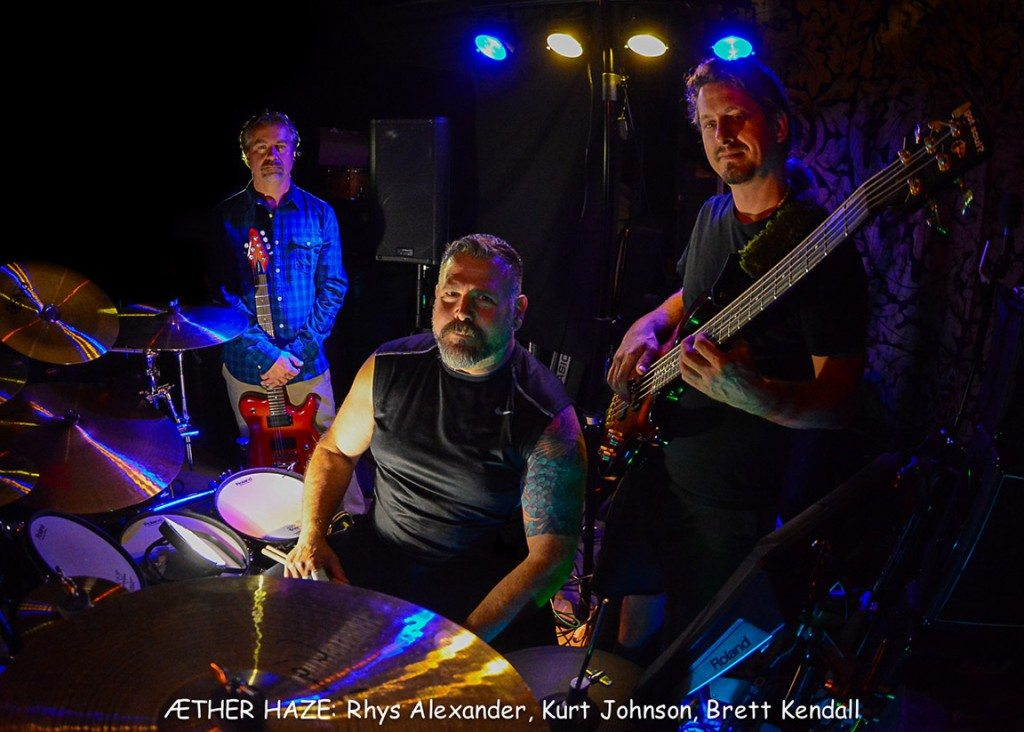 Æther Haze plays Saturday at the American Legion Hall. Tahoe Onstage photos by Tim Parsons