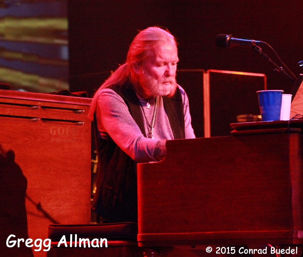 The Gregg Allman band tore down the house on Oct. 3. Photos by Conrad Buedel