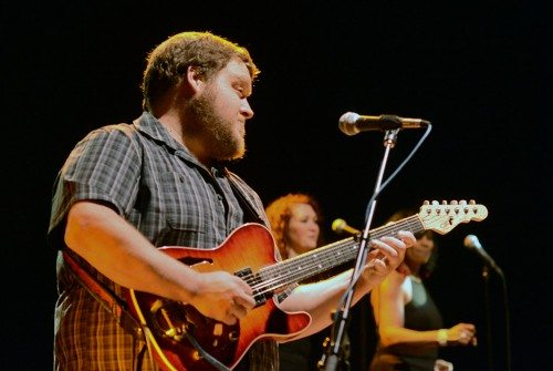 Sean Lehe plays guitar for Jelly Bread. Tim Parsons / Tahoe Onstage