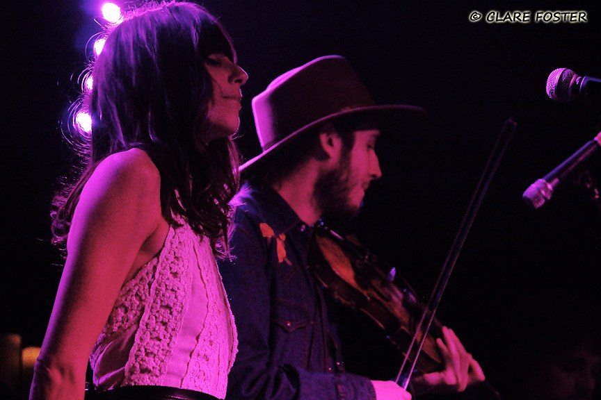 Nicki Bluhm and Kyle Patrick O'Brien. from the Easy Leaves