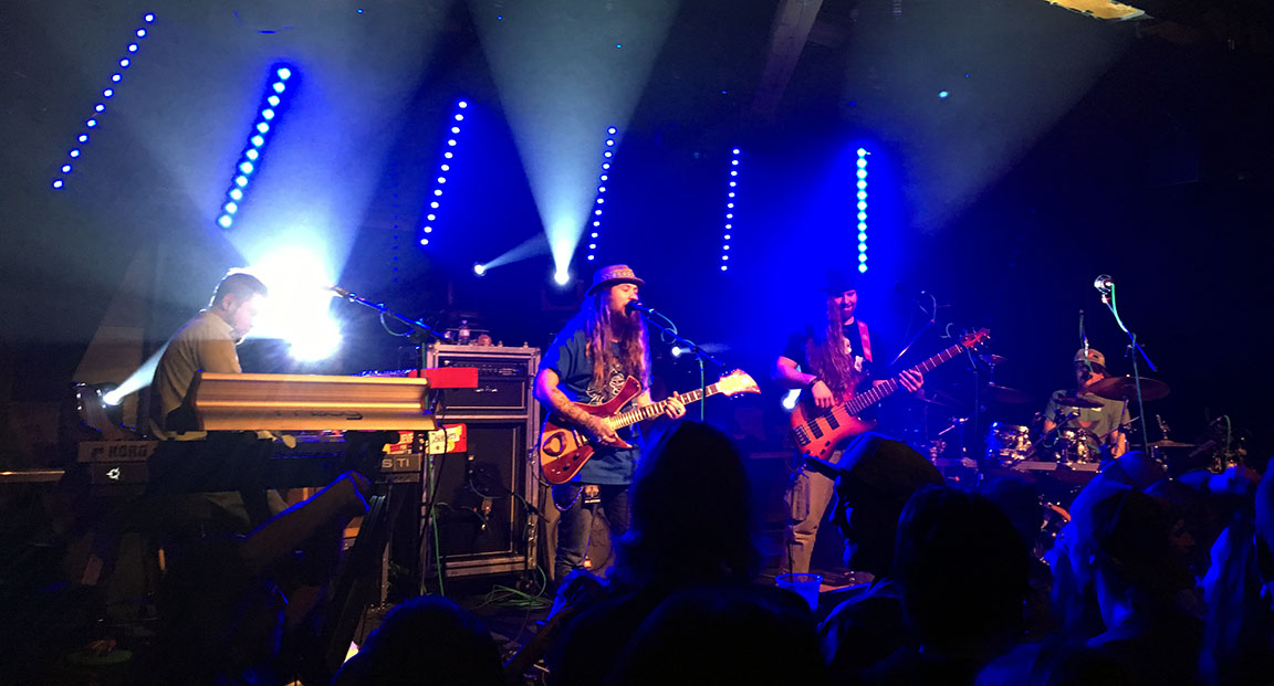 Twiddle's jam-packed Crystal Bay Casino show was Nov. 15. Photo by Alexis Alexis Dascoulias Foley