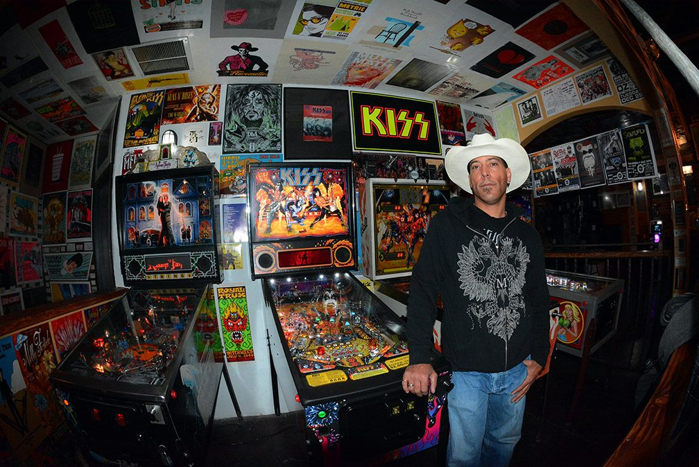 Chris Hubbell's rock and roll collection is on display at the Psychedelic Ballroom and Jukejoint in downtown Reno. Tahoe Onstage photos by Tim Parsons