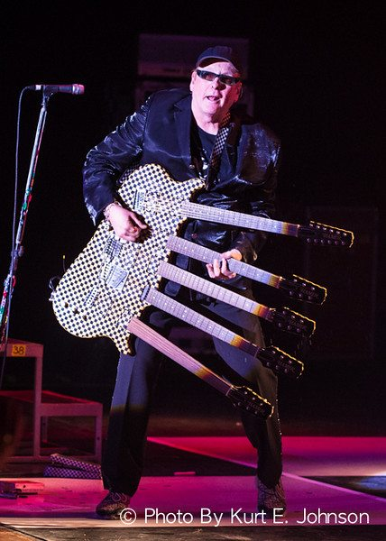 Cheap Trick and Rick Neilsen and his five-neck Hamer guitar return to Lake Tahoe as the newest members of the Rock and Roll Hall of Fame. Kurt Johnson / Tahoe Onstage