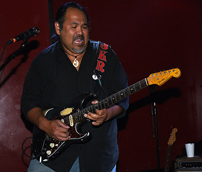 Jason King returns to Tuesday Night Blues with the Buddy Emmer Blues Band.