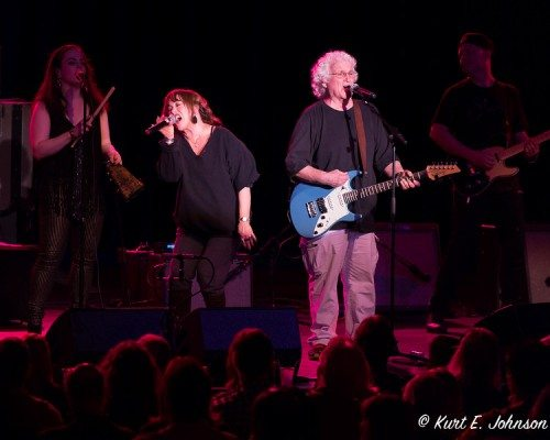 After Paul Kantner died in late January, Dave Freiberg is the remaining original Jefferson Starship member. Tahoe Onstage photos by Kurt E. Johnson