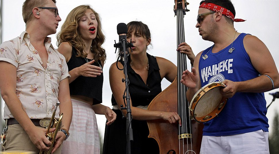 Lake Street Dive thrilled concertgoers in its Reno debut.  Tahoe Onstage file photo by Larry Sabo