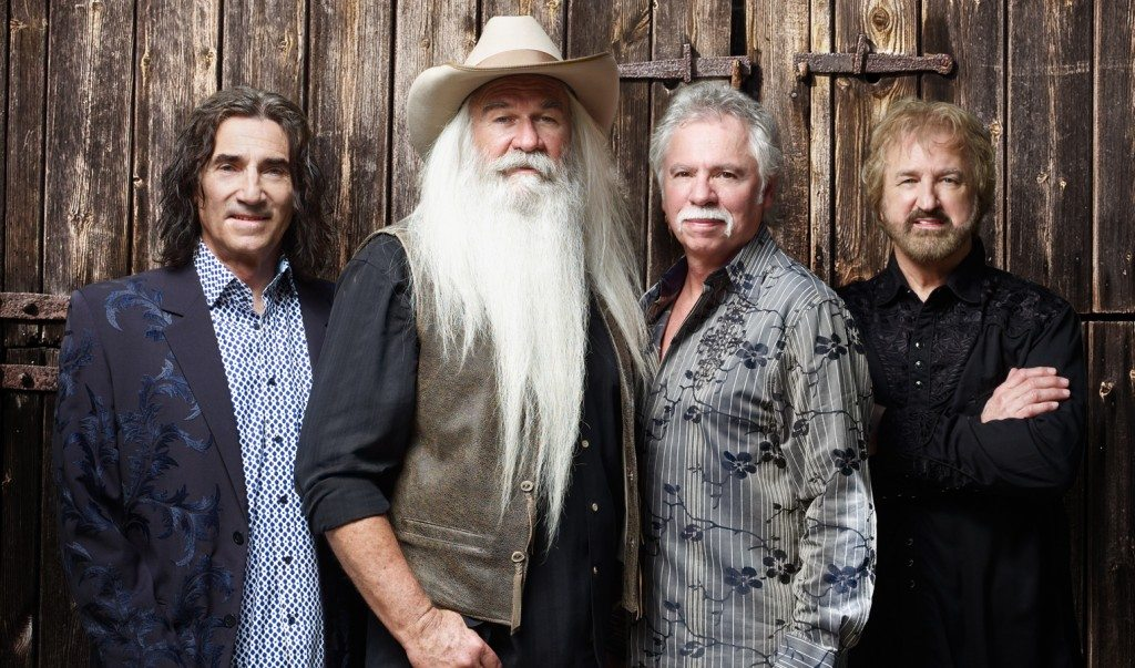 The Oak Ridge Boys play TJ's Corral at the Carson Valley Inn on Saturday, June 25.