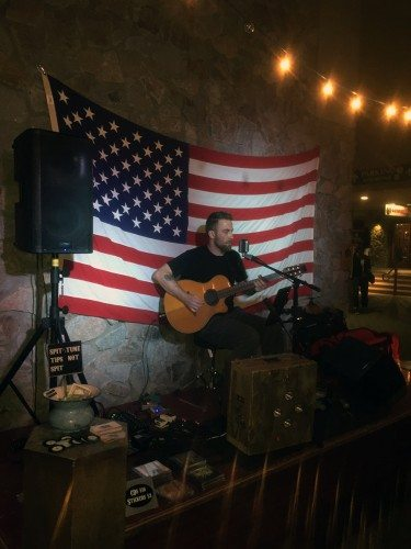 Patrick Walsh is a live music star.